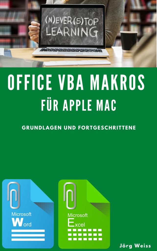 Apple Mac Excel Word Office VBA Makros Sachbuch eBook