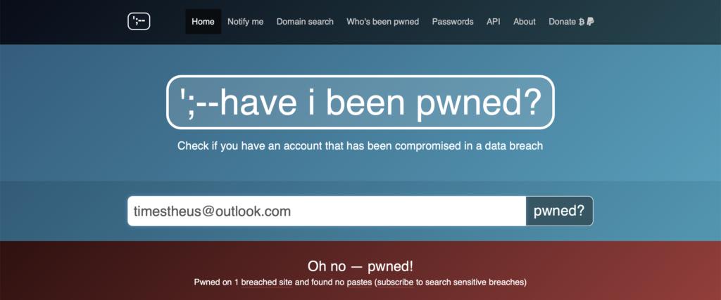 Webseite prüft Datenklau im Internet
